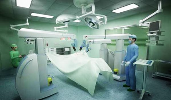 l'eye tracking utilizzato in una sala operatoria con il sistema sehnance per la chirurgia robotica
