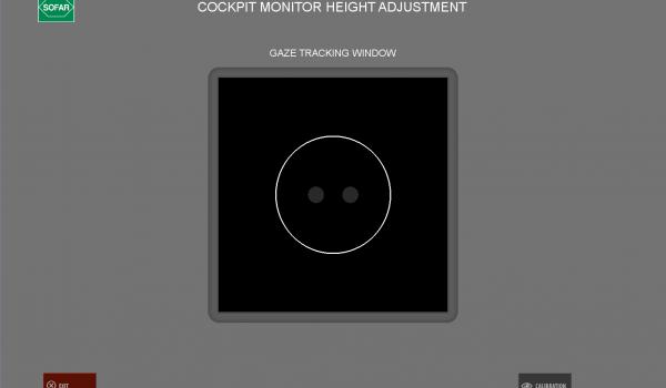 tracciamento dello sguardo per la finestra di controllo