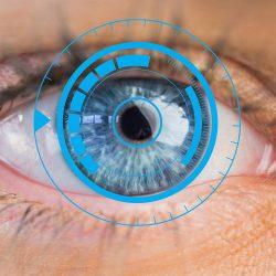 calibrazione adattiva occhio azzurro