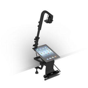 Soluzione di montaggio per il test dei dispositivi mobili utilizzando l'eye tracker