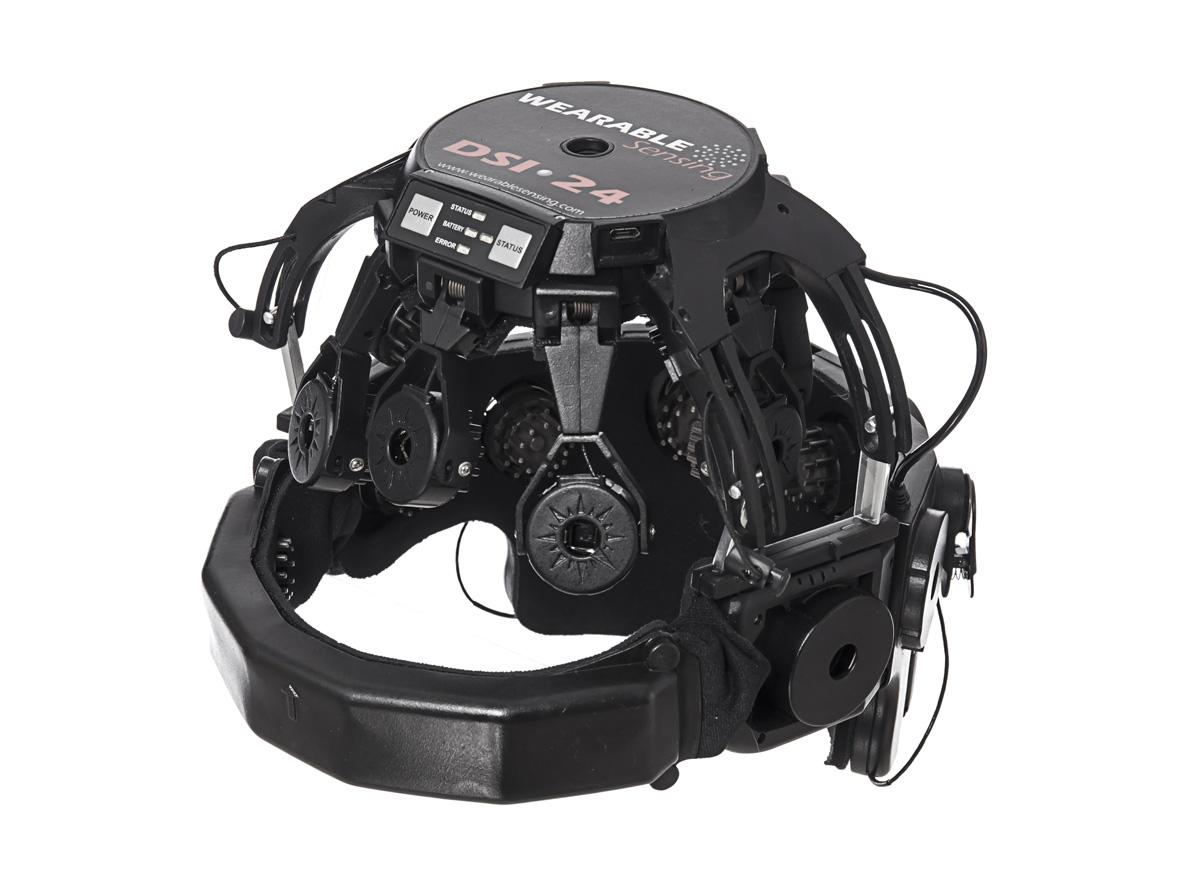 Wearable Sensing for eeg DSI-24 big