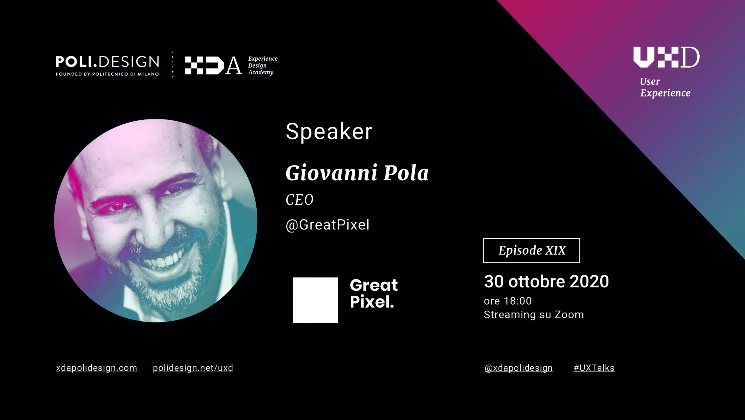 Cover ux talk speaker pola greatpixel